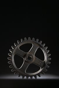 歯車の写真素材 [FYI04067994]