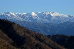乗鞍岳 伊西峠より望むの写真素材 [FYI04068351]