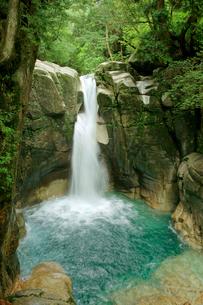 龍神の滝・夕森公園の写真素材 [FYI04068382]