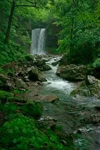 夫婦滝の写真素材 [FYI04068452]