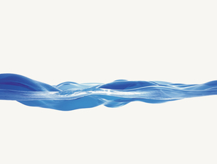 波打つ水面イメージ CGのイラスト素材 [FYI04068684]