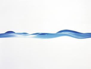 波打つ水面イメージ CGのイラスト素材 [FYI04068687]