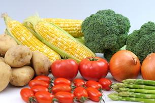 道産野菜の集合の写真素材 [FYI04068691]