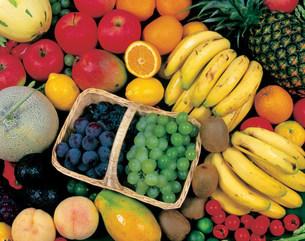 果物の盛り合わせの写真素材 [FYI04068711]