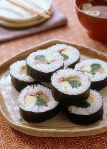 巻き寿司の写真素材 [FYI04069261]