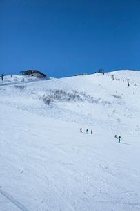 スキー場の写真素材 [FYI04069820]