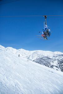 スキー場の写真素材 [FYI04069826]