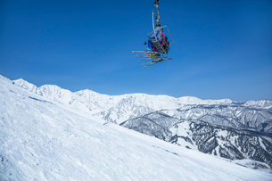 スキー場の写真素材 [FYI04069827]