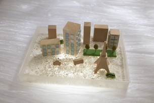 都会の模型の写真素材 [FYI04070245]