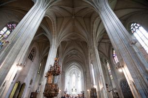 聖ミハイ教会内部の写真素材 [FYI04071286]