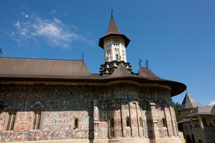 スチェヴィツァ修道院の写真素材 [FYI04071291]