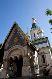 聖ニコライロシア教会の写真素材 [FYI04071297]