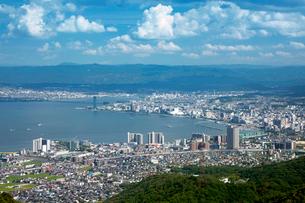 琵琶湖大津港の写真素材 [FYI04071395]