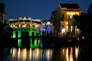 日本橋のランタン祭りの写真素材 [FYI04071442]