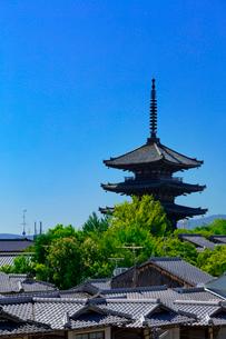 八坂の塔の写真素材 [FYI04071529]
