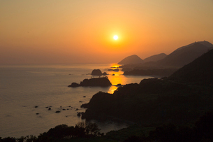 丹後松島 朝日の写真素材 [FYI04071587]