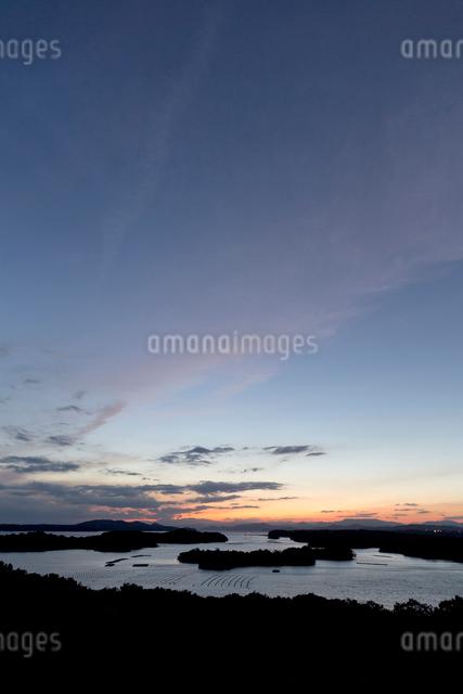 英虞湾の暮色の写真素材 [FYI04071798]
