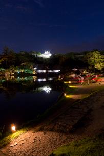 玄宮園夜景の写真素材 [FYI04071945]