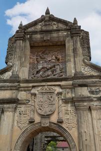 サンチャゴ要塞 メインゲートの写真素材 [FYI04072062]