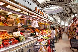 メルカード 中央市場の写真素材 [FYI04072177]
