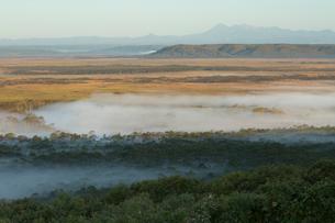 釧路湿原の朝の写真素材 [FYI04072207]