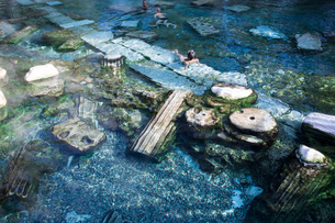 パムッカレ温泉の写真素材 [FYI04072217]