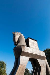 トロイの木馬の写真素材 [FYI04072221]