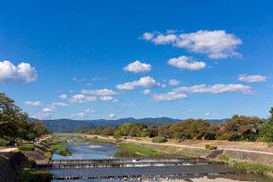 葵橋からの鴨川の写真素材 [FYI04072388]