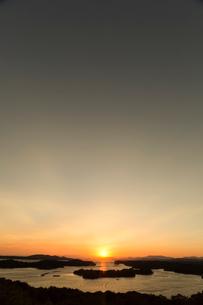 英虞湾,夕日の写真素材 [FYI04072412]