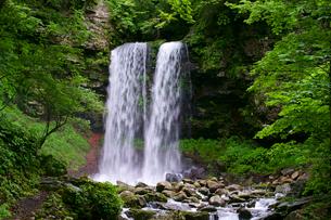 夫婦滝の写真素材 [FYI04072551]