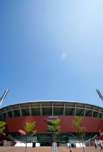MAZDA Zoom-Zoom スタジアム広島の写真素材 [FYI04072600]