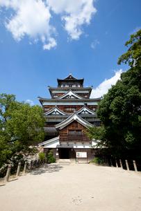 広島城の写真素材 [FYI04072624]