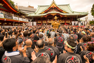 神田祭の写真素材 [FYI04072790]