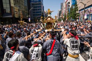 神田祭の写真素材 [FYI04072792]