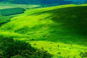 車山山頂より霧ヶ峰高原の写真素材 [FYI04072902]