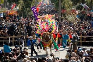 鹿児島神宮初午祭の写真素材 [FYI04073424]
