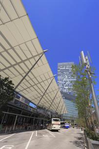 東京駅八重洲口バスターミナルの写真素材 [FYI04073706]