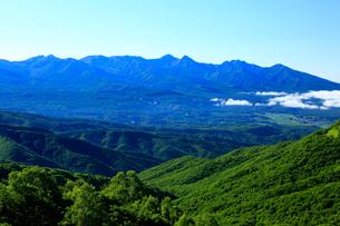 ビーナスラインから八ヶ岳の写真素材 [FYI04073936]