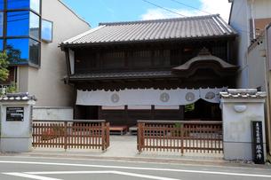 旧東海道舞坂宿脇本陣の写真素材 [FYI04074049]