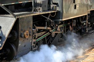 大井川鐡道の蒸気機関車の写真素材 [FYI04074118]