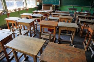 旧木沢小学校の写真素材 [FYI04074237]