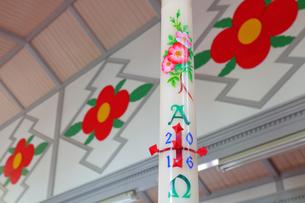 中ノ浦教会 茨の花の写真素材 [FYI04074280]