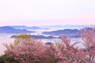 筆影山公園の桜の写真素材 [FYI04074395]