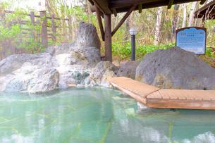川湯温泉のあし湯の写真素材 [FYI04074429]