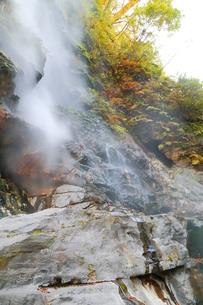 小安峡大噴湯の写真素材 [FYI04074478]