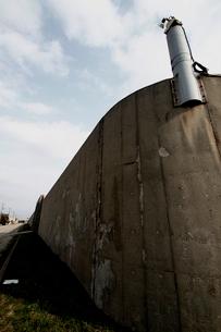 新潟刑務所の塀の写真素材 [FYI04074532]