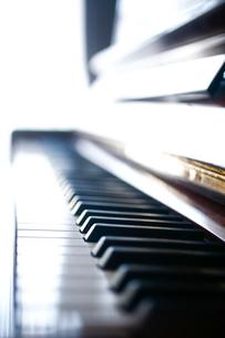 ピアノの鍵盤の写真素材 [FYI04076652]