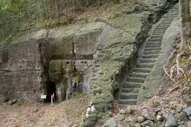 石見銀山の釜屋間歩の写真素材 [FYI04076954]