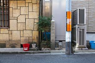 黒田如水邸跡 石碑の写真素材 [FYI04077006]