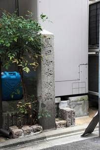 黒田如水邸跡 石碑の写真素材 [FYI04077011]